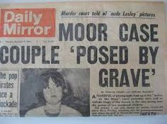 11 year old neighbour, Patty Hodges, was on the front page of the Daily Mirror. Patty tells journalists about the many times she , Ian and Myra spent time on Saddleworth Moor. Moors Murders, Crime Of The Century, Alien Abduction, Ancient Aliens, Serial Killers, True Crime, Sentences, Mirror, December