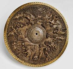 El triunfo de la diosa del mar.  Peter Flotner.  Alemana 1485-1546.  esteatita…