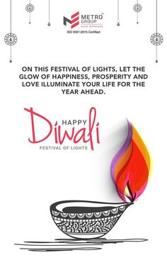 Metro Group wishes you a very Happy Diwali Diwali Greetings Quotes, Happy Diwali Quotes, Happy Diwali 2019, Diwali Cards, Diwali Greeting Cards, Festival Flyer, Diwali Festival, Diwali Poster, Diwali Message
