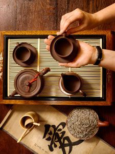 Chinese Tea Set http://www.interactchina.com/