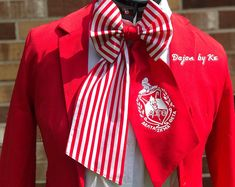Delta Sigma Theta Trunks Up Women's Bow Tie Delta Greek, Delta Sigma Theta Gifts, Delta Girl, Women Bow Tie, Sorority And Fraternity, S Pic, Cute Fashion, Winter Outfits, Trunks