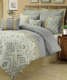 Love this Milan Comforter Set by Beatrice Home on #zulily! #zulilyfinds
