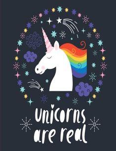 Unicorns Are Real: Unicorn Notebook by Joy Tree Journals https://www.amazon.com/dp/1535225351/ref=cm_sw_r_pi_dp_x_-RImybEWT3FC4