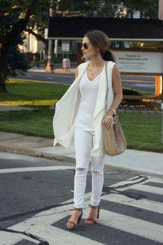 Oh So Glam: White On White
