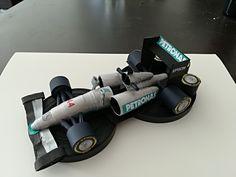 Formule 1 quilling 3 D