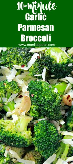 Just 10 minutes to make this super-easy and truly tasty side dish - Garlic Parmesan Broccoli! It's so addictively yummy you'll be making this over and over again! Vegetable Sides, Vegetable Recipes, Veggie Casserole, Broccoli Florets, Garlic Parmesan, Dinner Sides, Side Dishes Easy, Veggie Dishes, Yummy Eats