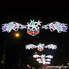 Wholesale street light Christmas decorations