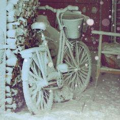 Cold bike by SerbianPrincess2012