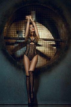 +.+ #lingerie #sexy #seductive #woman #slim #beautiful #bodysuit