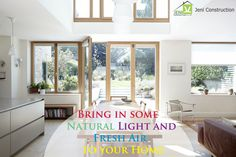 ‪#‎Home‬ Tips - Fresh air and Natural Light is necessary for every Home. ‪#‎JeniConstruction‬