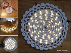 Crochet Light Rug