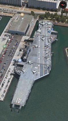 USS Midway (CV 41) Museum, San Diego, CA, USA