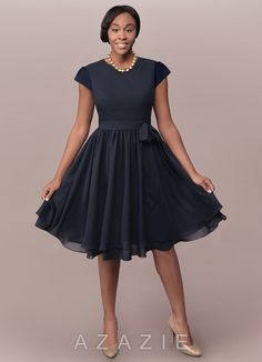 Shop Azazie Bridesmaid Dress - Ingrid in Chiffon. Find the perfect made-to-order bridesmaid dresses for your bridal party in your favorite color, style and fabric at Azazie.
