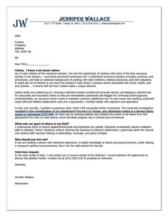 40 Best Cover Letter Examples Images