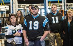 Panthers host wounded warriors | 2016
