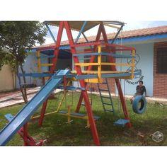 Playground Com 14 Brinquedos
