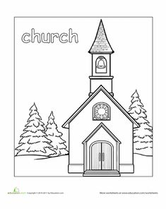 Paint the Town! Coloring Pages | Education.com