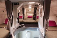 パジャマにテディベア持参OK⁉客室乗務員の秘密の仮眠室はこんな様子だった!