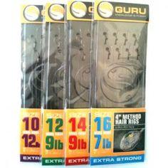 Guru Method Hair Rigs 4inch