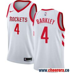 Houston Rockets  4 Charles Barkley White Nike NBA Men s Stitched Swingman Jersey  Nba Houston Rockets 5fb5b8de1