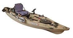 Old Town says it created its new Predator kayaks to deliver the perfect platform for fishing. With six removable mounting plates, this model...