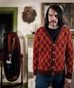 """Tapete de """"O Iluminado"""" inspira coleção de roupas norte-americana"""