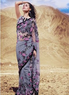 Indian Saree: Online Saree Shopping Made Easy With Latest Designs at Utsav Fashion Indian Wedding Sari, Saree Wedding, Wedding Dress, Latest Indian Saree, Indian Sarees Online, Indian Attire, Indian Outfits, Designer Sarees Online Shopping, Trendy Sarees