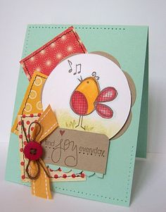 unity stamp company. kit used - Could I be any cuter - card created by unity design team member Lisa Henke.