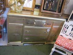 Chic Antique's ionized gold buffet