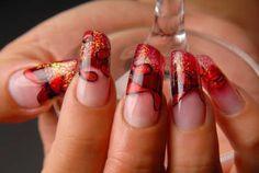 Tendencies in the manicure – autumn- winter Stylish Lady Fall Winter, Autumn, Nails Magazine, Nails On Fleek, Swarovski Crystals, Manicure, Nail Designs, Louis Vuitton, Nail Art
