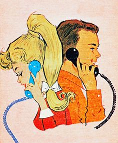Cover illustration of Barbie and Ken, published in 1963