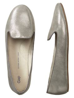 Metallic loafers, yes! | Fall essential | $49.95