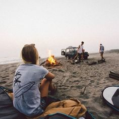 Campfire | Camping | Beach Retreat | Fresh Air | Outdoors