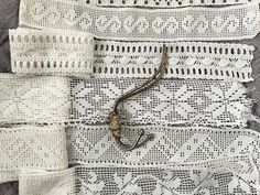 Old lace and a hook
