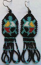 Beaded Turtle Earrings - NEW! Beaded Earrings Patterns, Seed Bead Patterns, Beading Patterns, Seed Bead Jewelry, Bead Jewellery, Seed Beads, Turtle Earrings, Bead Earrings, Seed Bead Projects