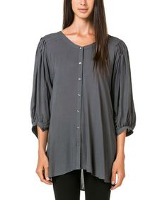Another great find on #zulily! Teal Pleated Dolman Tunic by miilla  #zulilyfinds