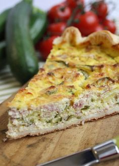 Torta salata! Quiches, Omelettes, Ricotta, Pizza Rustica, Salad Cake, Salty Foods, How To Cook Ham, Italy Food, Antipasto
