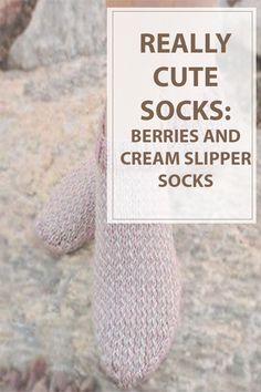 After a protracted day of labor , you wish to relax and drink a hot tea. However I feel one thing missing , your feet are tired and cold. We got you the simplest solution with this knitting pattern!! Knit a loveable knit sock knitting pattern a reasonably mixture of white and pink. The Berries and CreamSlipper Sock are thick , heat sock and might be matched excellent with a combine of winter socks. | www.housewiveshobbies.com |