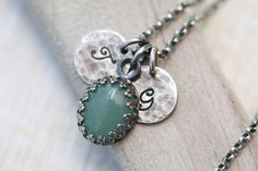 Personalized Mother's Necklace Personalized by MangoJewels on Etsy, $56.00
