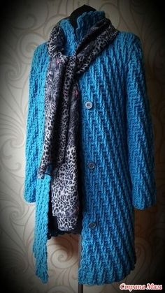 Crochet and Knitting Gilet Crochet, Crochet Coat, Crochet Jacket, Crochet Cardigan, Crochet Clothes, Crochet Tank Tops, Easy Knitting Patterns, Jacket Pattern, Beautiful Crochet