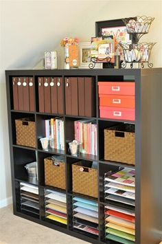 Organizing for the scrapbook room I might own one day if I happen to get really . Organizing for the scrapbook room I might own one day if I happen to get really really blessed. Scrapbook Room Organization, Scrapbook Storage, Craft Organization, Scrapbook Rooms, Scrapbook Supplies, Organizing Ideas, Craft Supplies, Space Crafts, Home Crafts