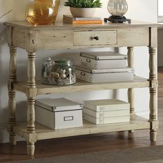 Found it at Wayfair - Colonial Console Table