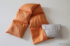 Atelier des Idées: Coleção primavera/verão almofada térmica com capa removível e lavável
