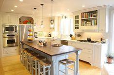 Machen Sie Ihre Küche hübsch mit offenen Regalen - http://wohnideenn.de/kuche/08/kuche-hubsch-offenen-regalen.html