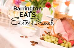 Chef Kelly Donlea's tips for great places and recipes for Easter Brunch in Barrington, Illinois