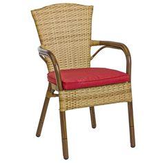 Printre scaunele noastre profesionale pentru terase si gradini se afla si modelul Santa Fe II. Cu un design elegant si o compozitie robusta, scaunul de exterior Santa Fe II poate fi utilizat in diverse spatii Horeca. Este alcatuit din ratan sintetic si cadru din aluminiu, fiind disponibil in diverse culori: burned, sereno si mocca. Doriti un plus de confort? Nici o problema, scaunul Santa Fe II este disponibil si cu perna in doua nuante: bej si rosu.