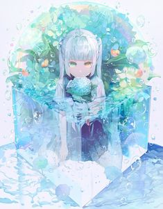 e-shuushuu kawaii and moe anime image board Manga Kawaii, Kawaii Anime Girl, Anime Art Girl, Manga Girl, Anime Girls, Character Art, Character Design, Blue Anime, Image Manga