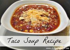 Family Taco Soup Recipe