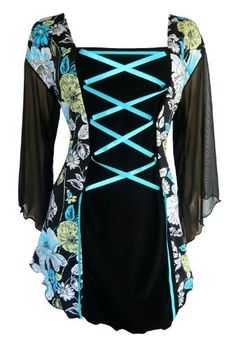 Dare To Wear Victorian Gothic Womens Plus Size Mandarin Corset Top Turquoise Spring 5X Dare to Wear,http://www.amazon.com/dp/B008QYZN8G/ref=cm_sw_r_pi_dp_YhZJrb0YRJ9ERKTD