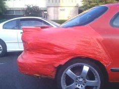 duct tape to fix your vehicle